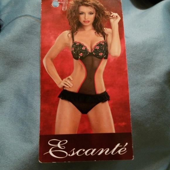 90782933b8847 Escante Lingerie Intimates & Sleepwear | Escante Sexy Baby Doll ...